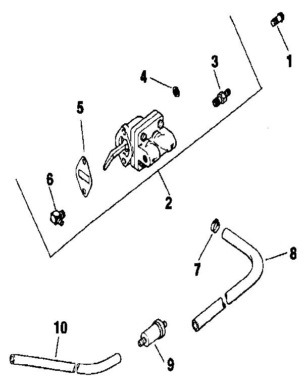 kohler fuel pump diagram