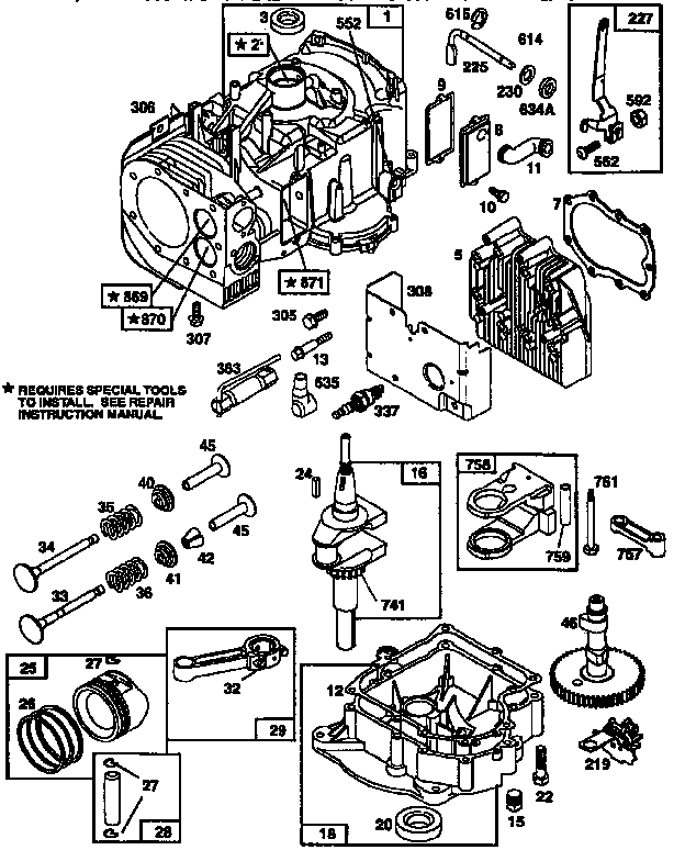 melco replacement parts motor repalcement parts and diagram