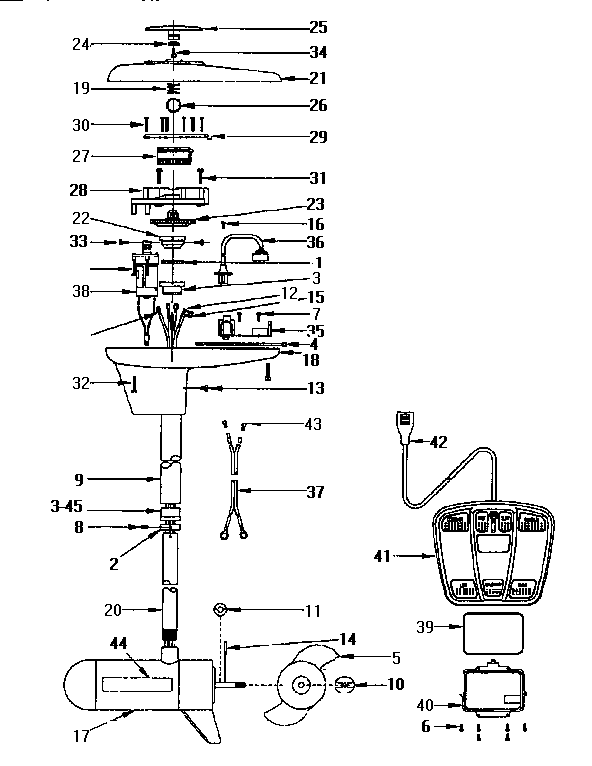 evinrude selectric wiring diagram