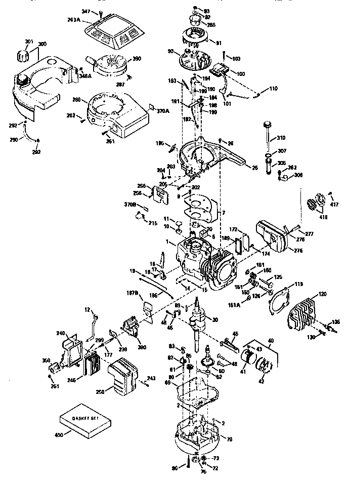 craftsman plastic carburetor diagram