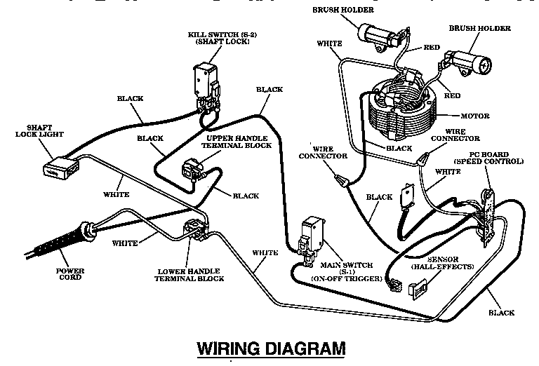 craftsman router wiring diagram