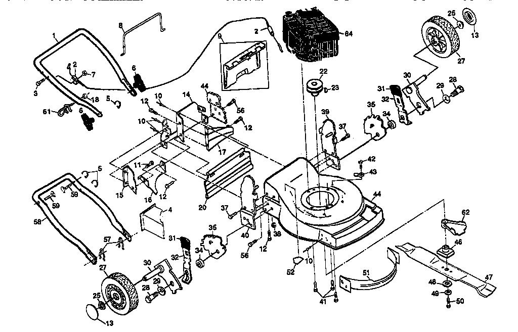 craftsman engine diagram 143.966500