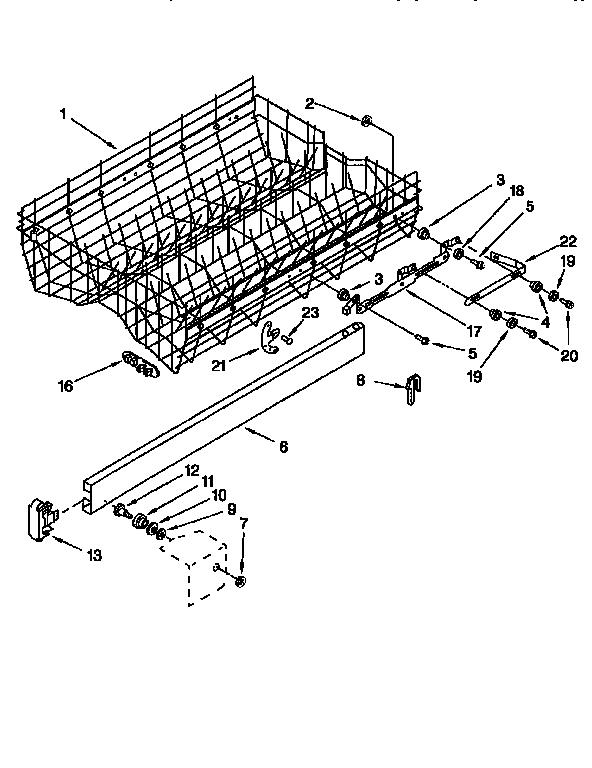 wiring diagram for kitchenaid dishwasher
