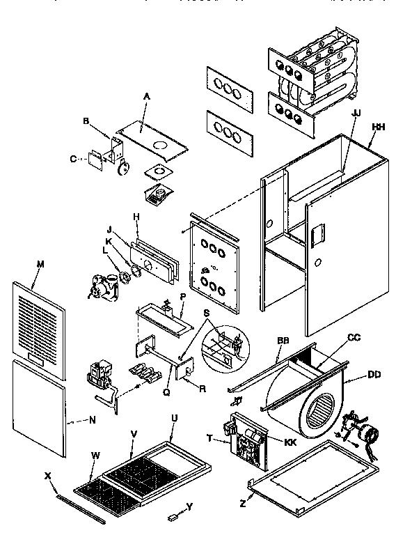arcoaire condenser wiring diagram