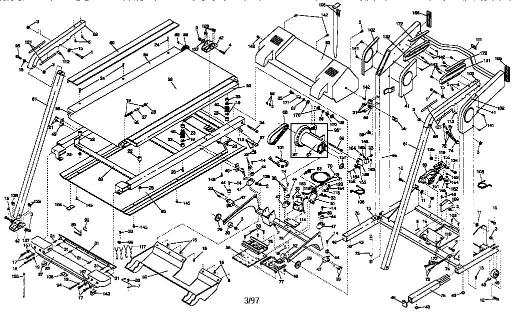 sears treadmill motor wiring diagram 1998