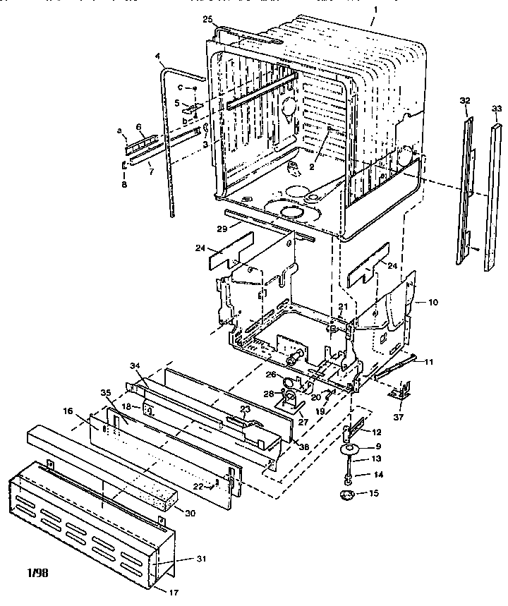 wiring diagram moreover frigidaire front load washer parts diagram
