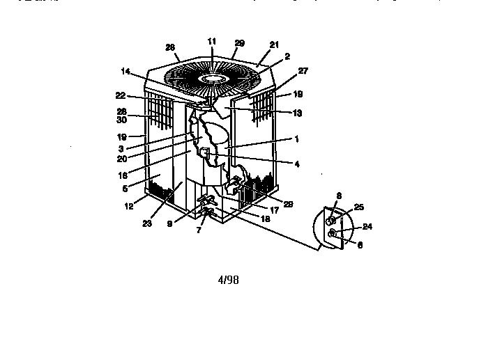york air conditioner parts manual