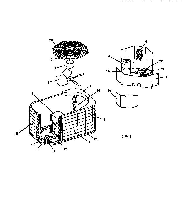york air conditioner component diagram