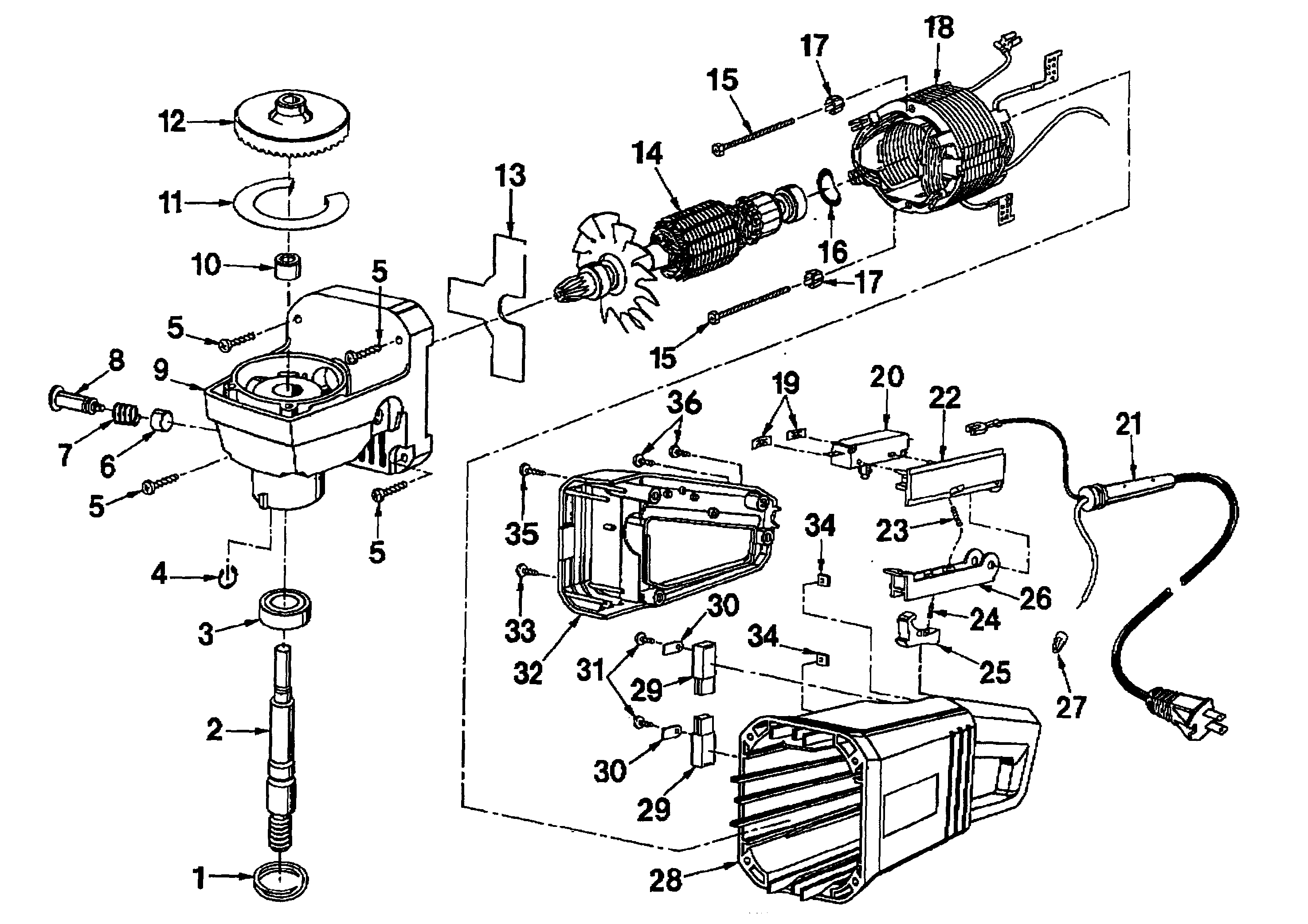 unit diagram and parts list for craftsman hydraulicjackparts model