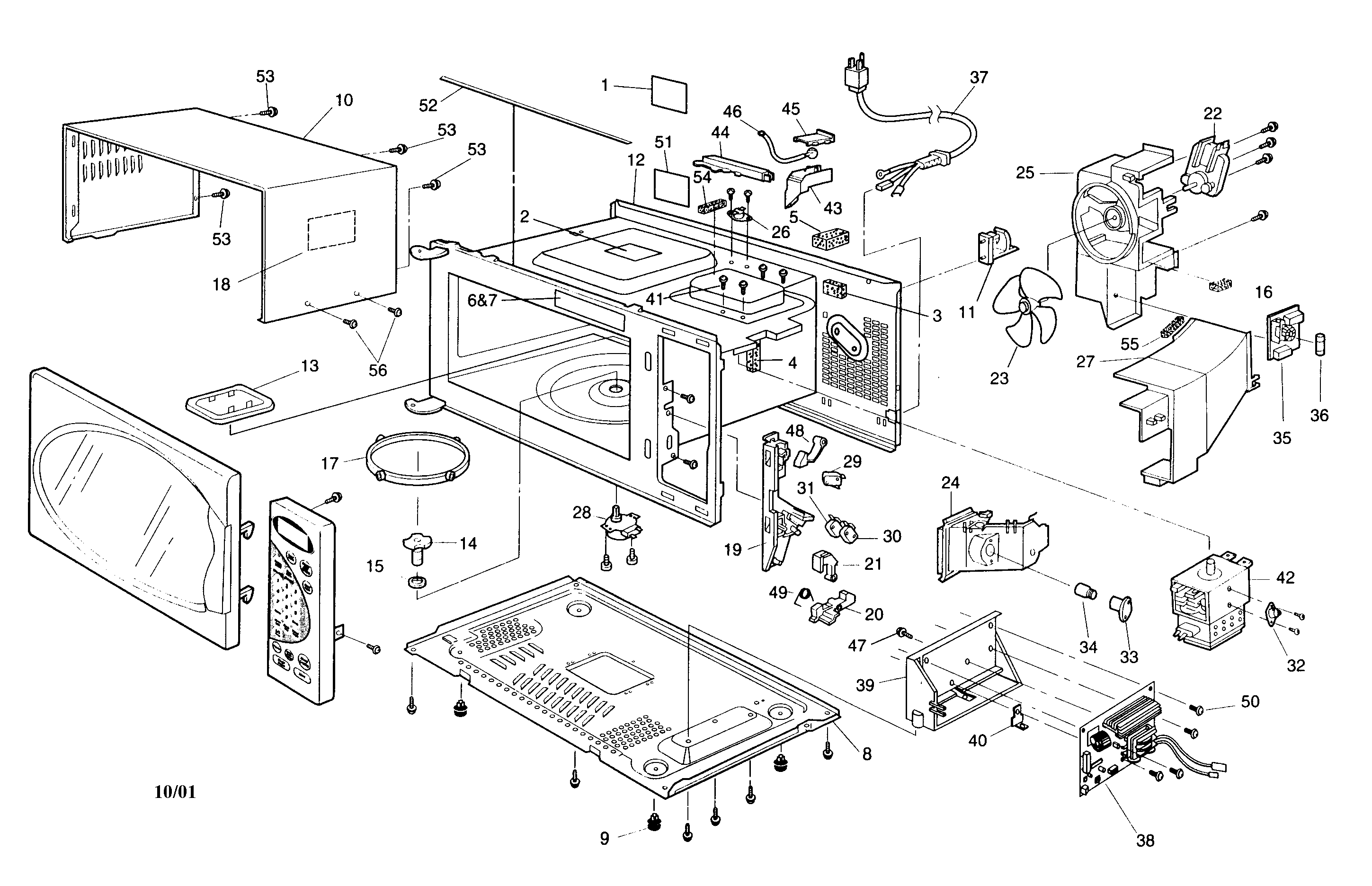 microwave oven microwave oven diagram