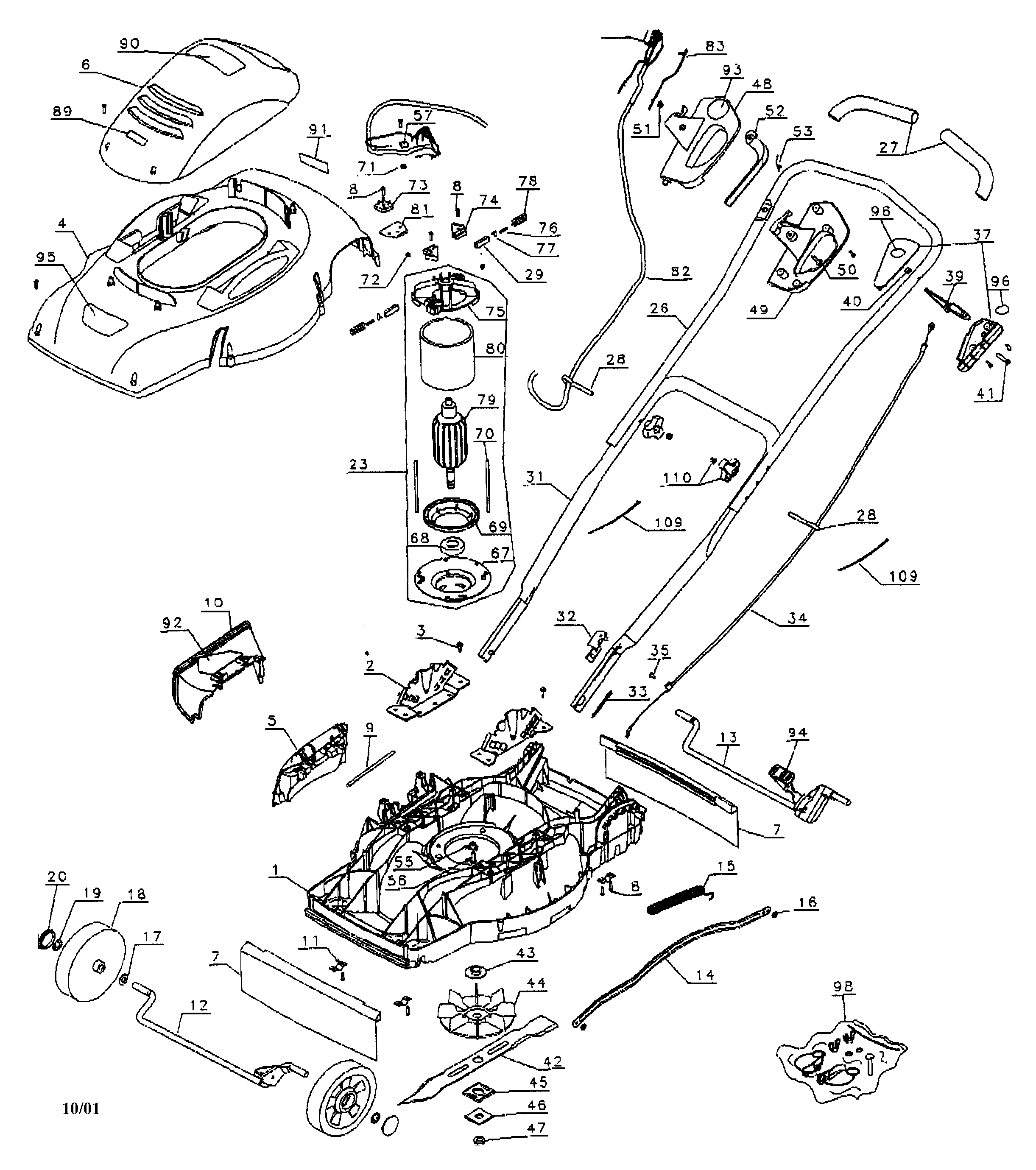 and decker mm875 wiring diagram black decker lawn mower mm875