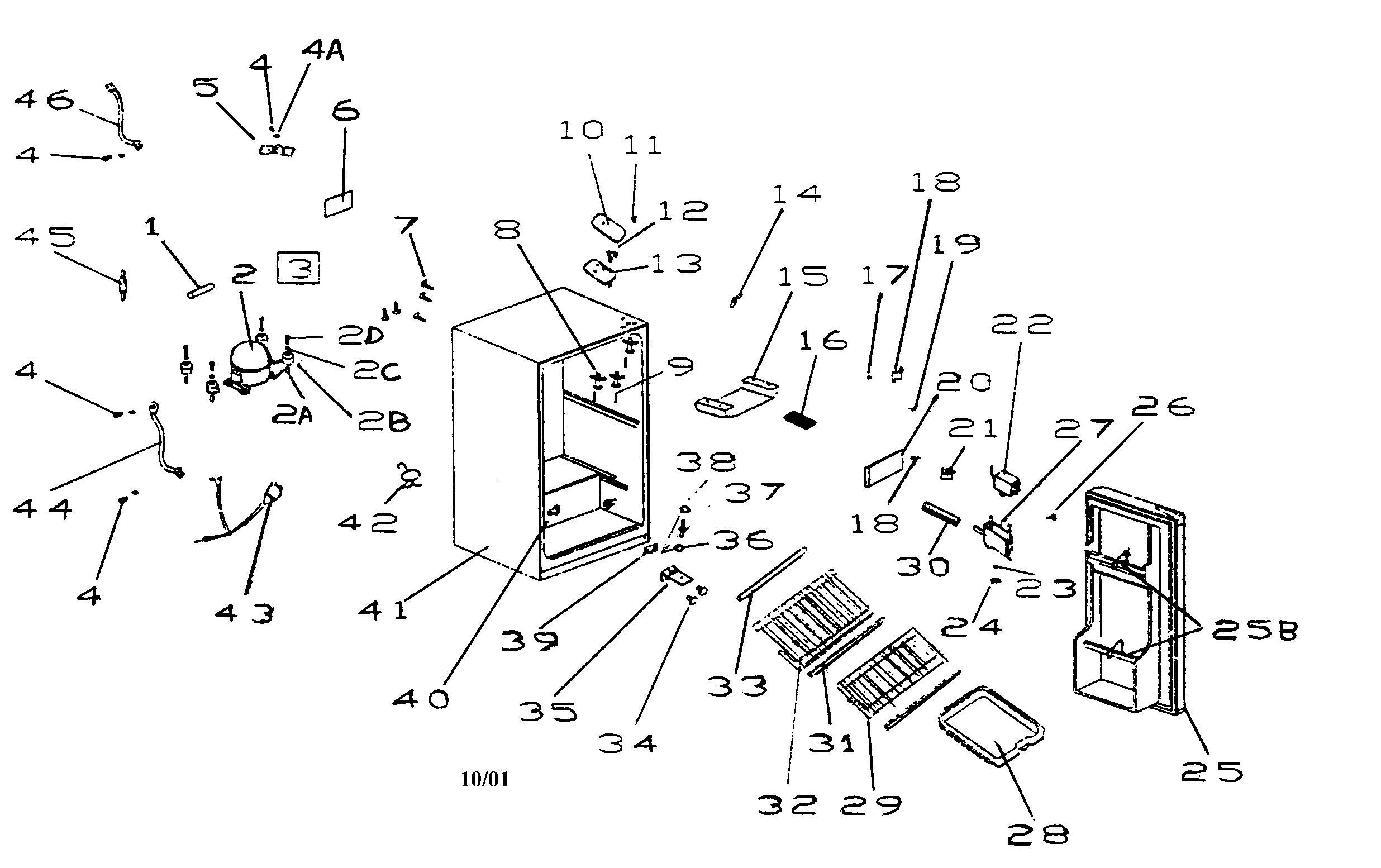 haier rrtg18pabw refrigerator wiring diagram