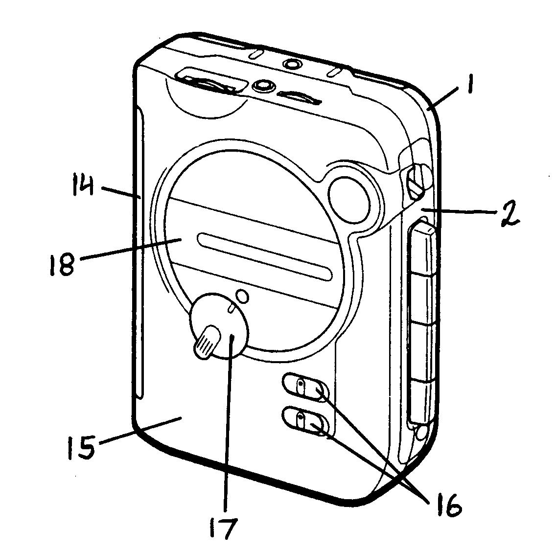 cassette player parts diagram