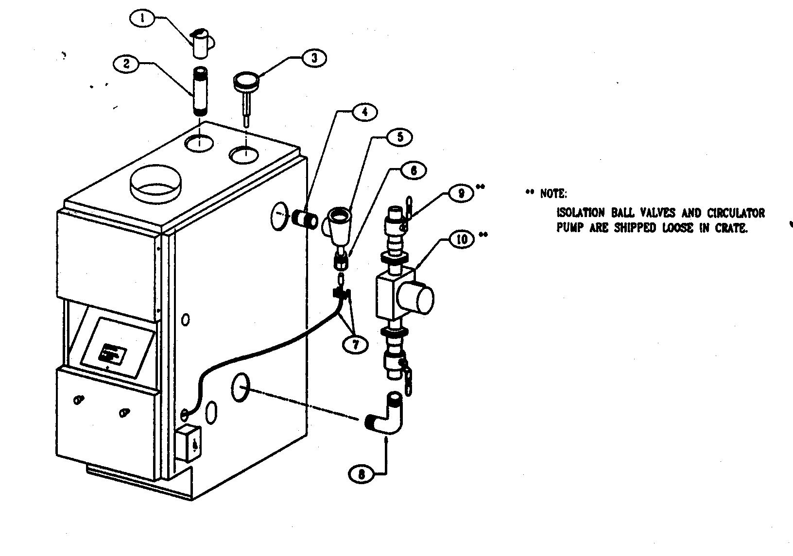 piping diagram for wood boiler
