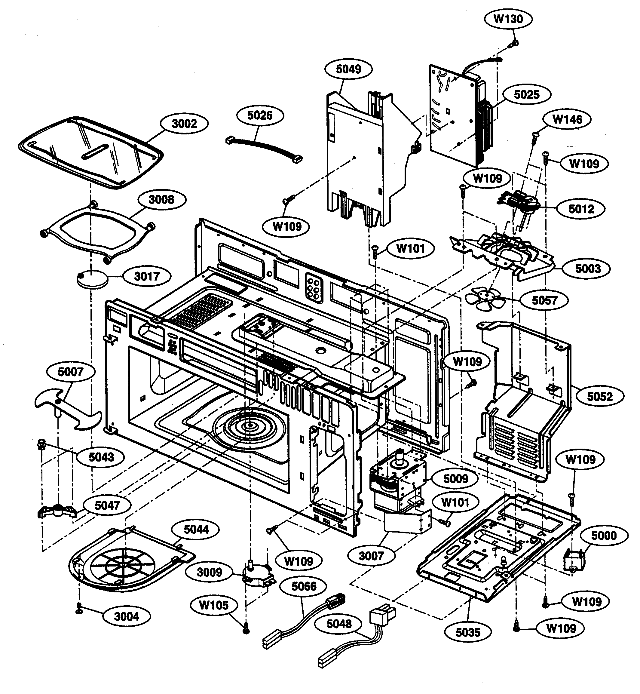 find wiring diagram for lg microwave oven