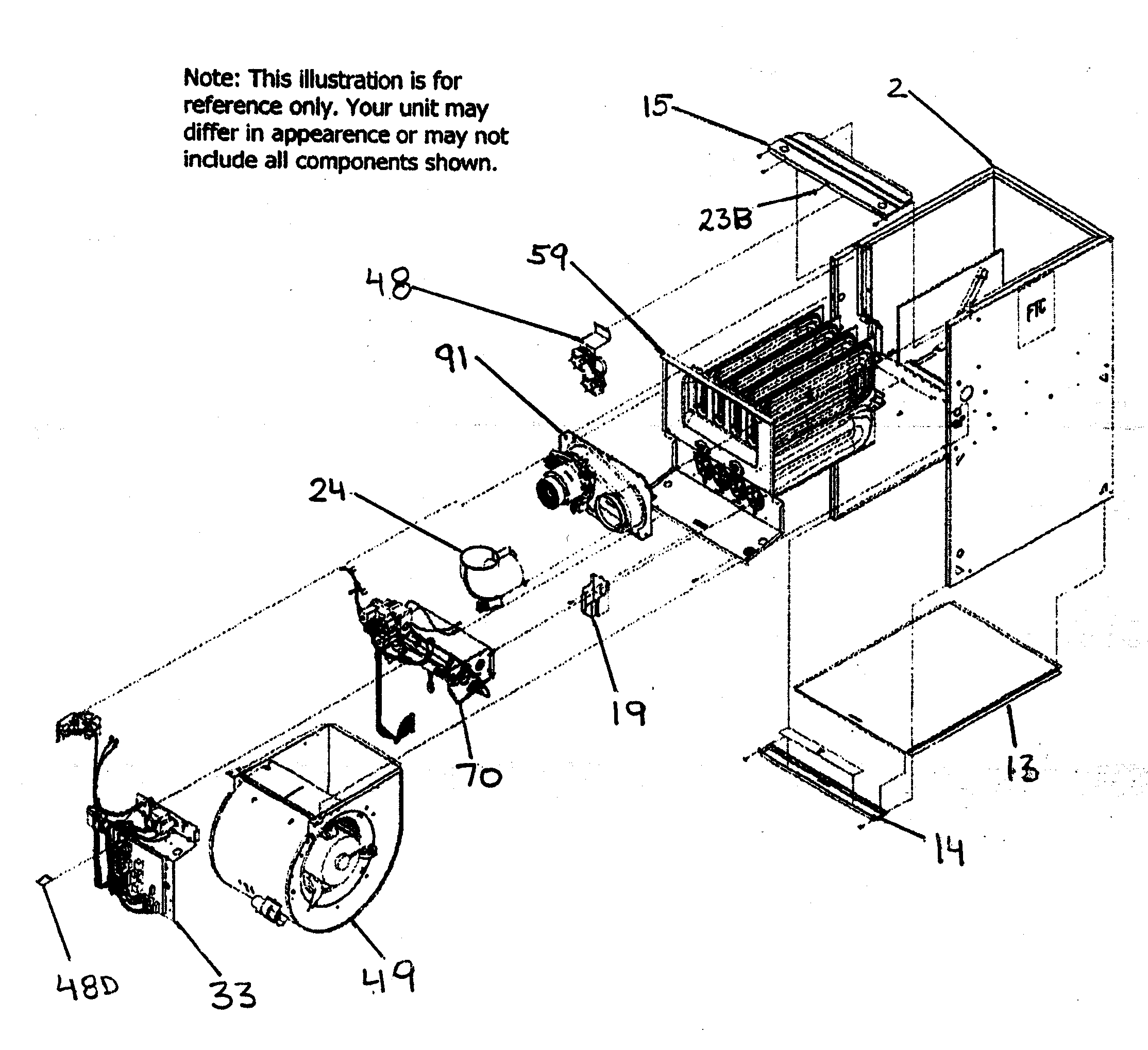 carrier furnace parts diagram