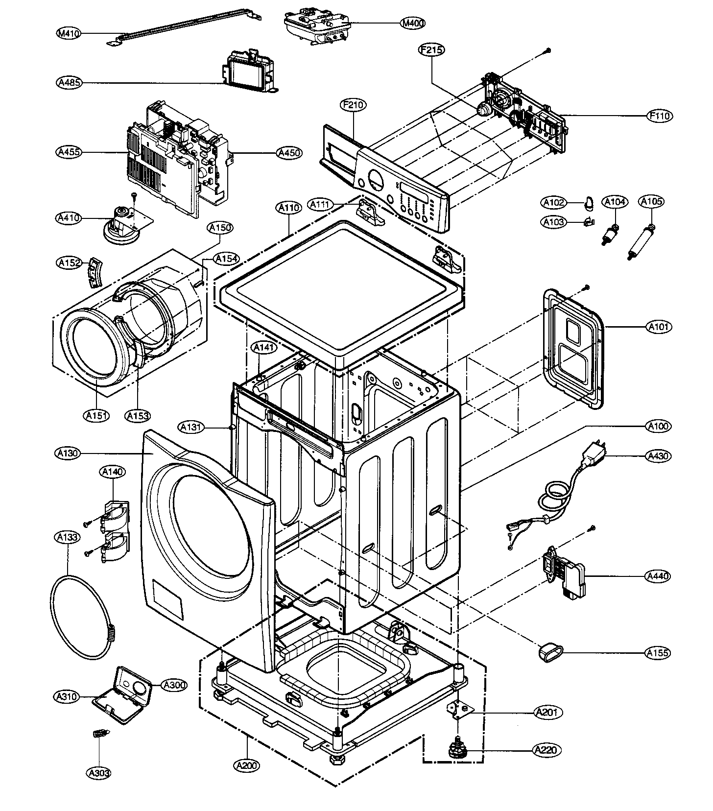 lg tromm dryer wiring diagram