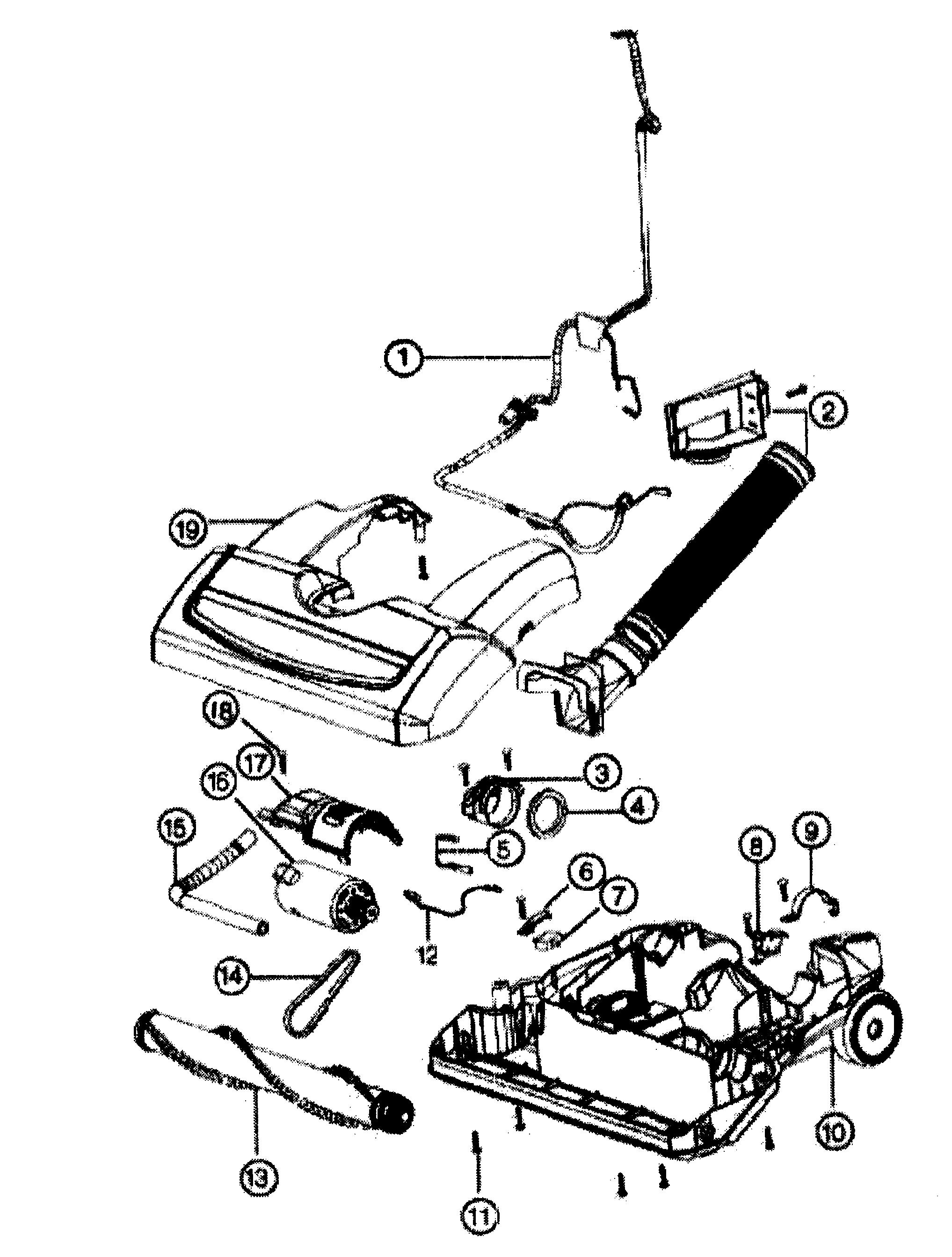 wiring diagram oreck edge