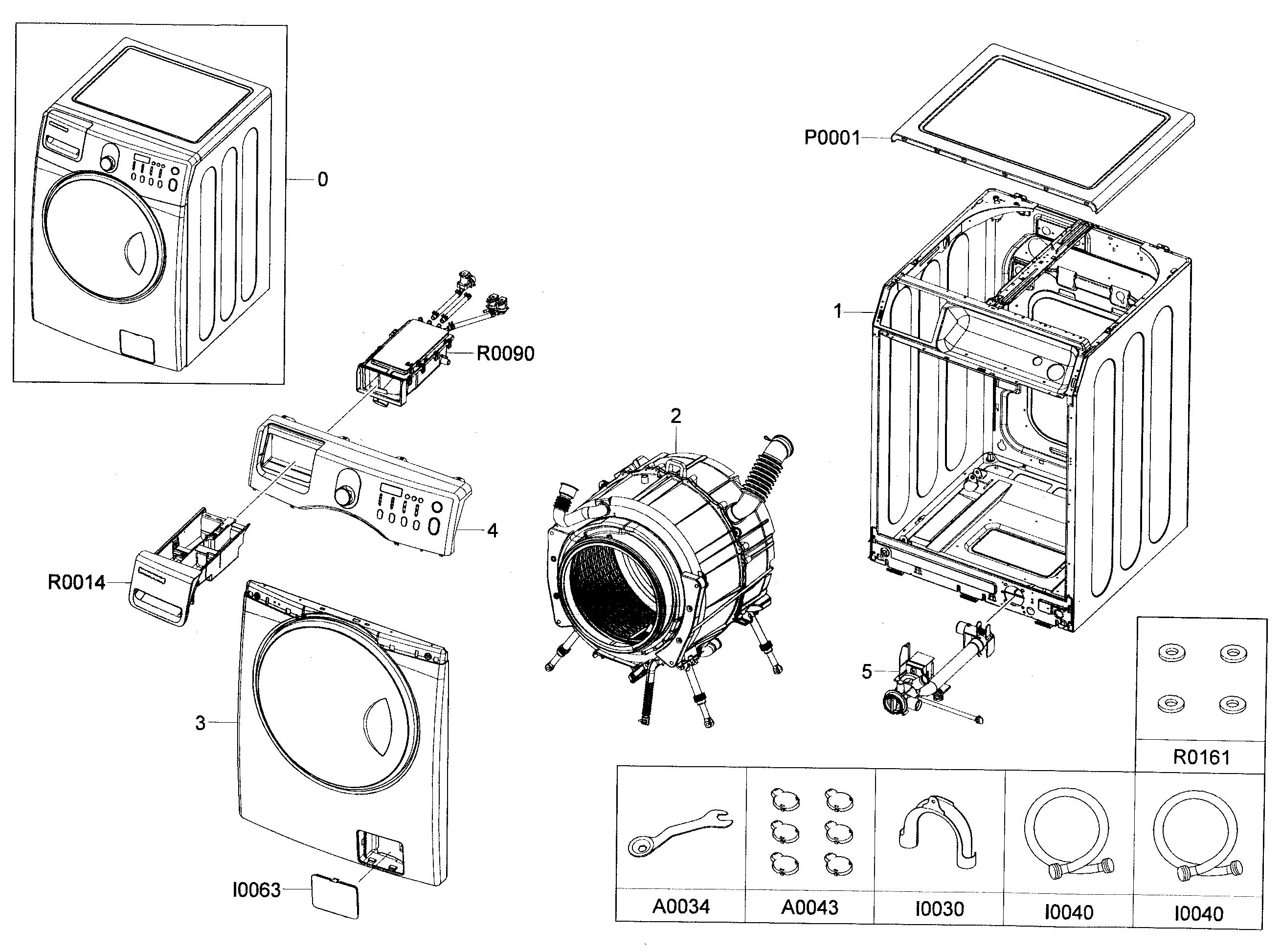 samsung washer diagram