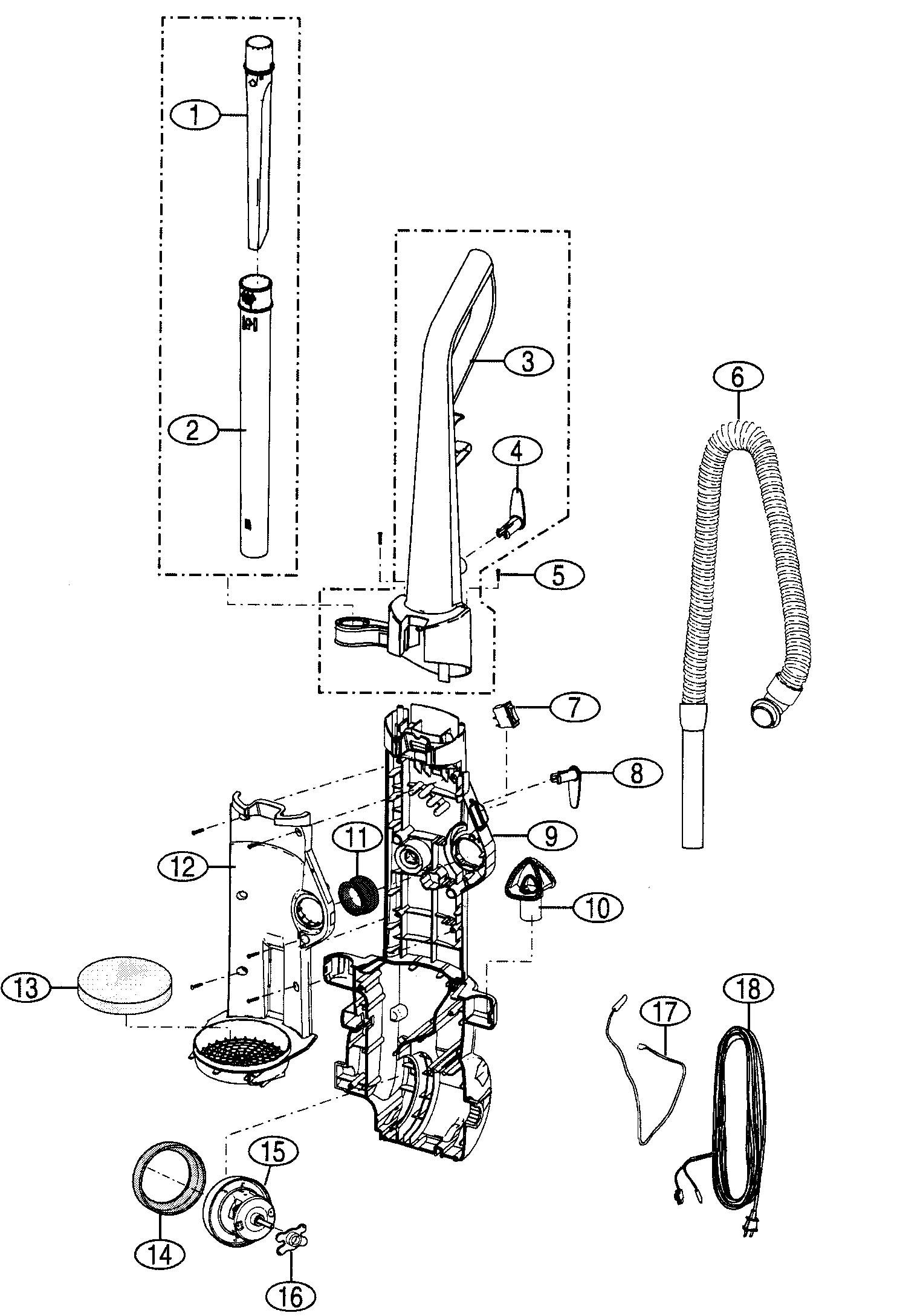kenmore vacuum model 116 wiring diagram