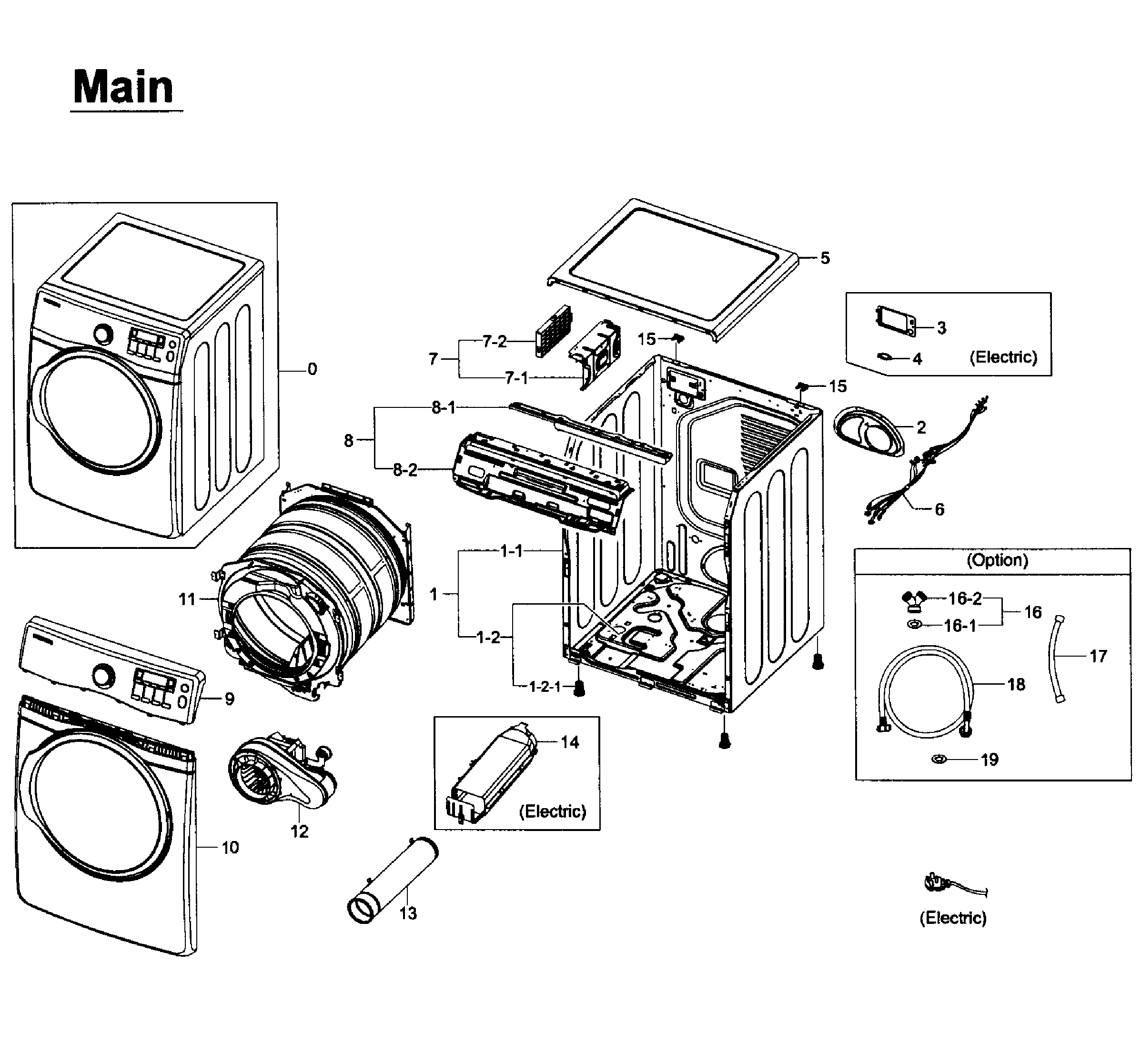 samsung dryer dv210aewxaa diagram
