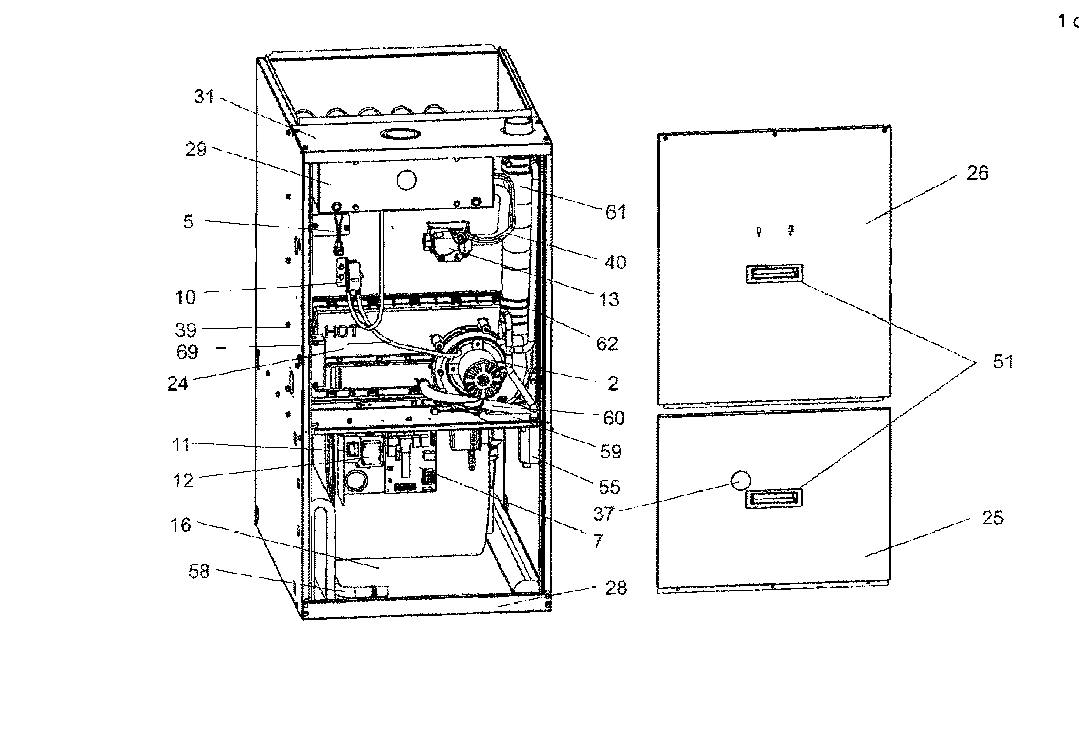 sears gas furnace wiring diagram