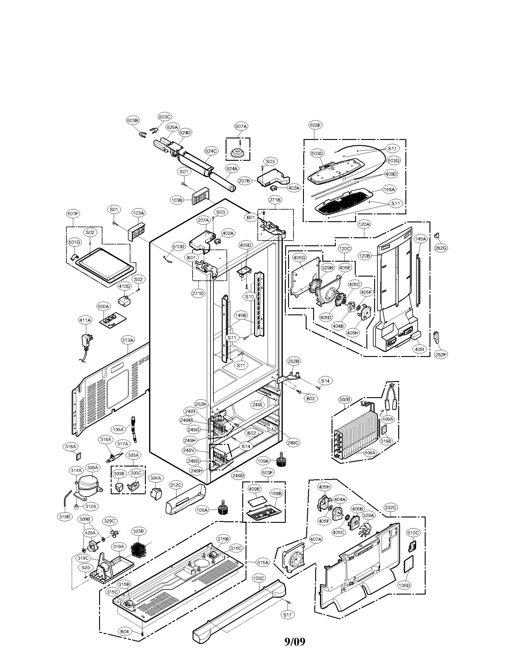 viking refrigerator wire diagram