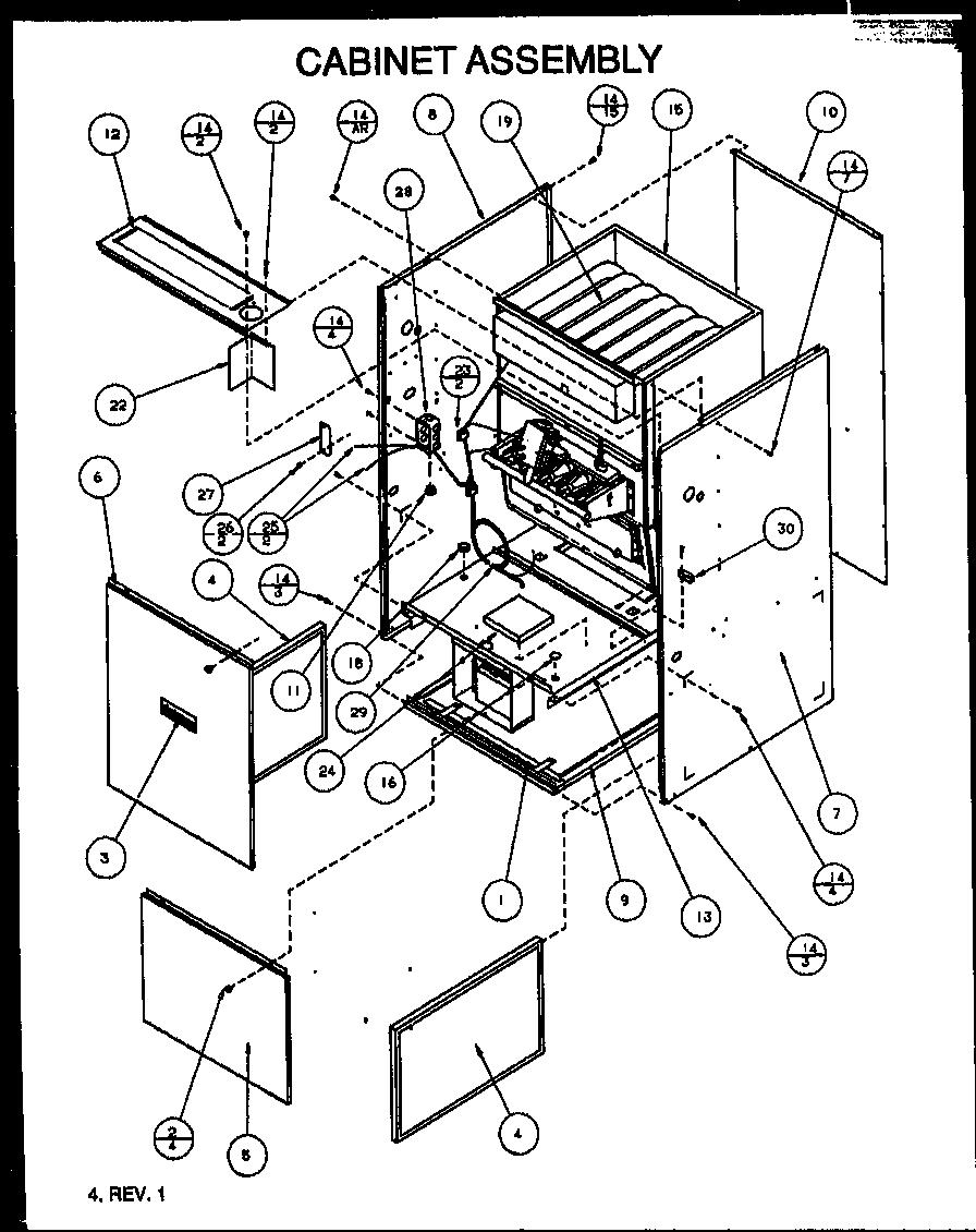 amana furnace schematics