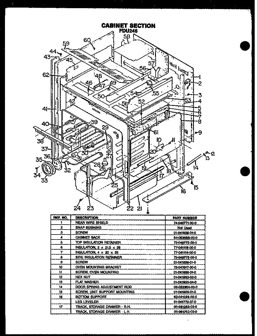 modern maid cooktop wiring diagram