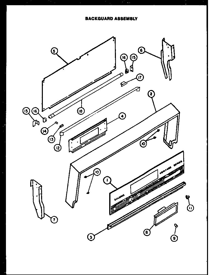 tappan electric stove wiring diagram