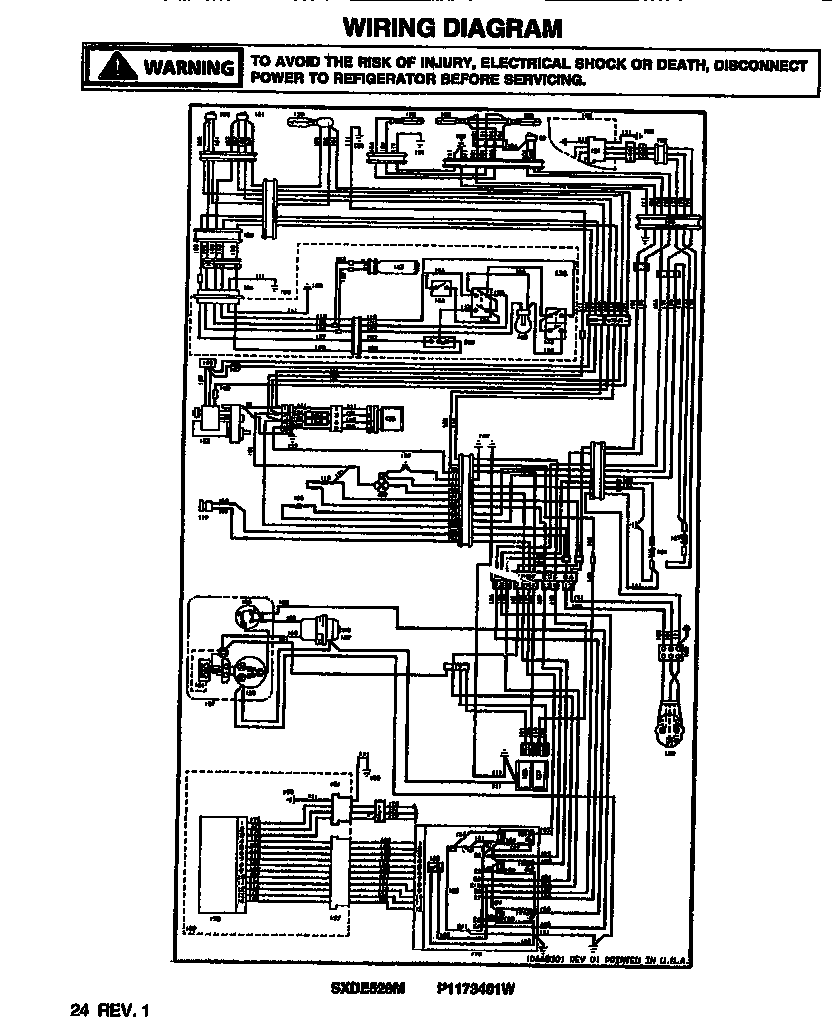 kitchenaid refrigerator electrical diagram