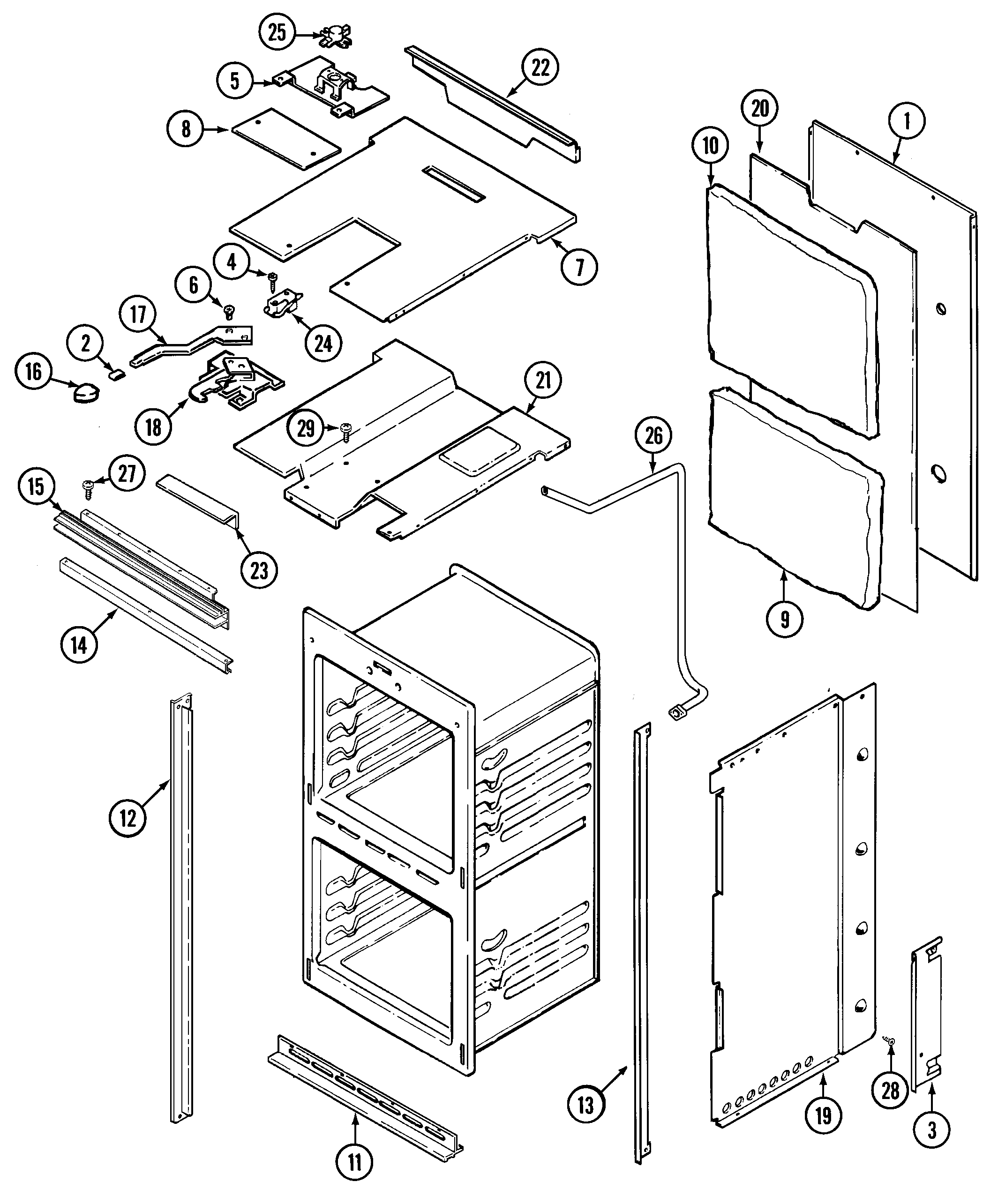 magic chef wall oven wiring diagram