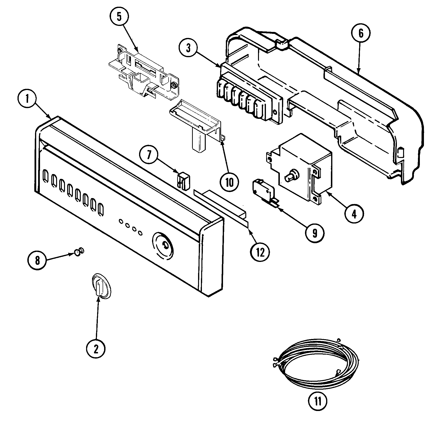 wiring diagram for maytag dishwasher