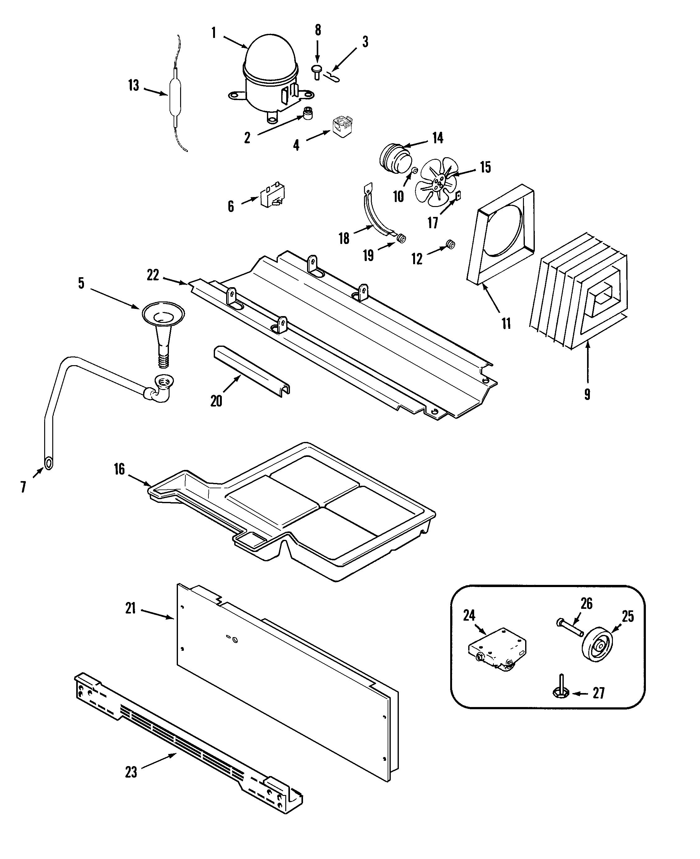 maytag side by refrigerator wiring diagram