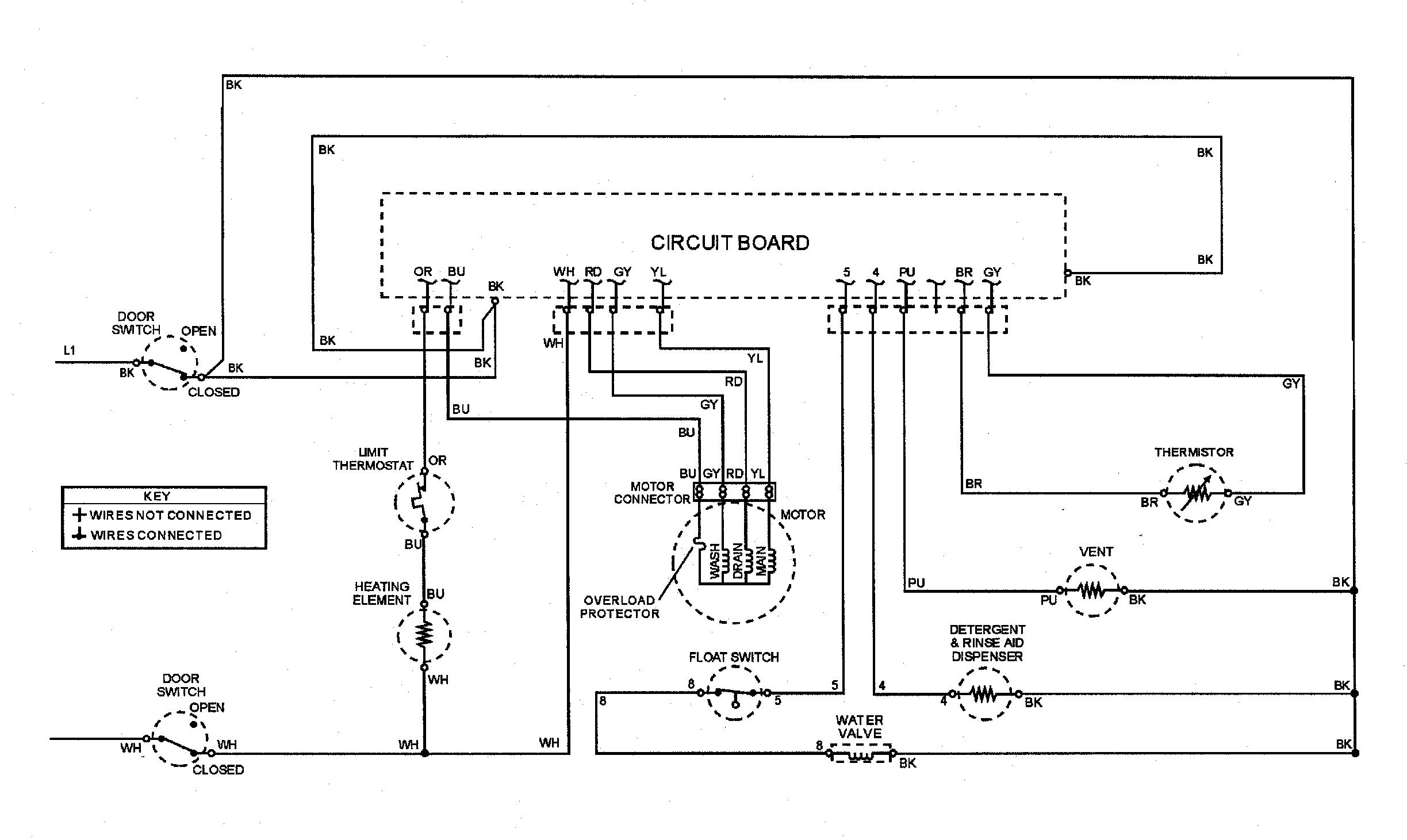 hobart dishwasher wiring diagram
