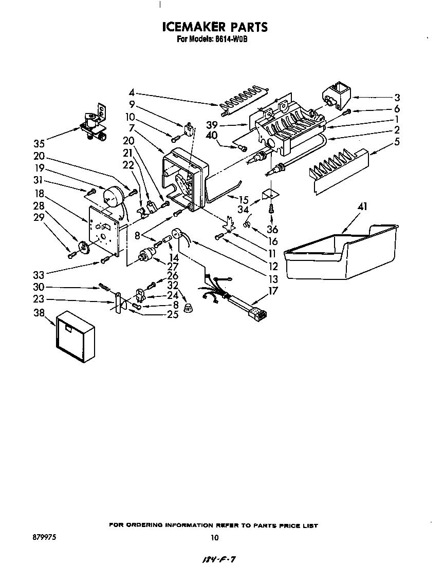 roper ice maker wiring diagram