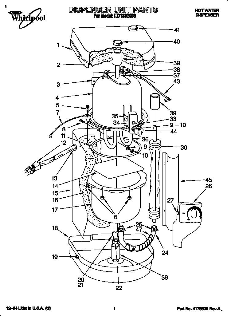 wiring rheem water heater together with refrigerator water dispenser