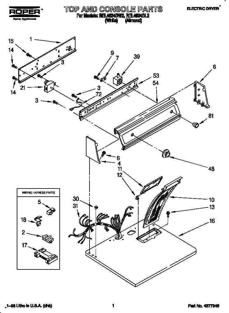hotpoint tumble dryer circuit diagram