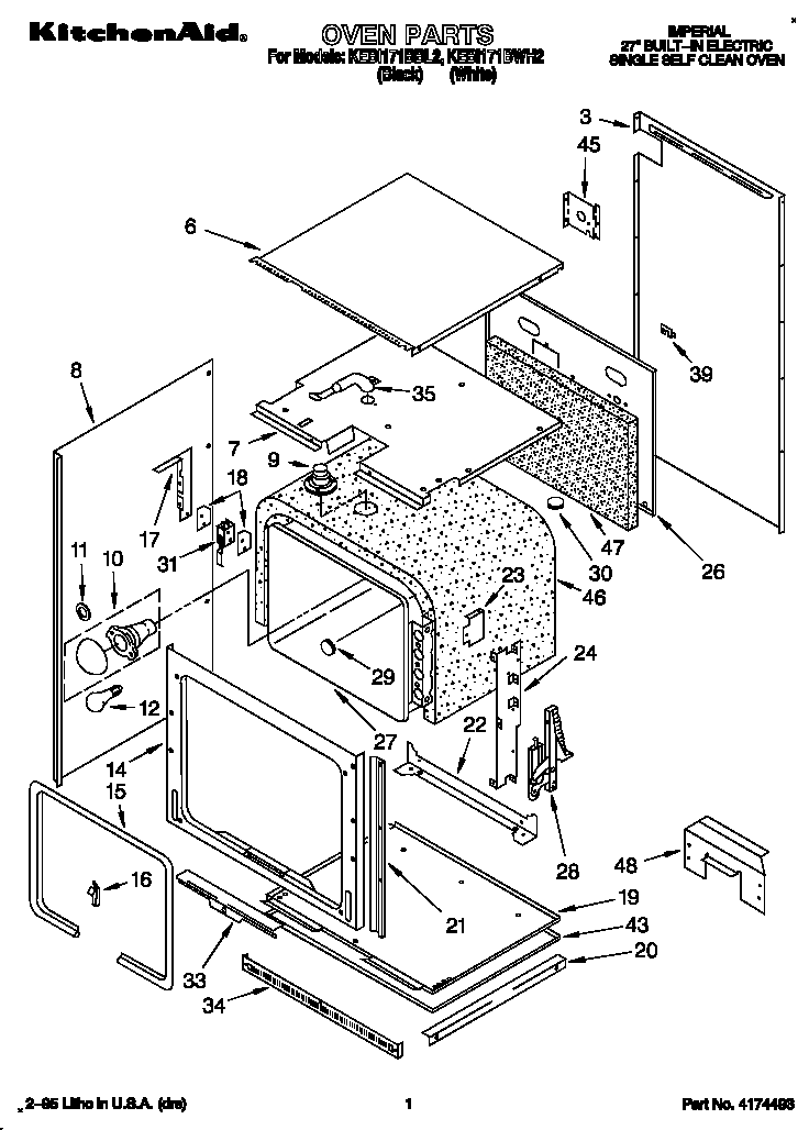 imperial oven wiring diagram