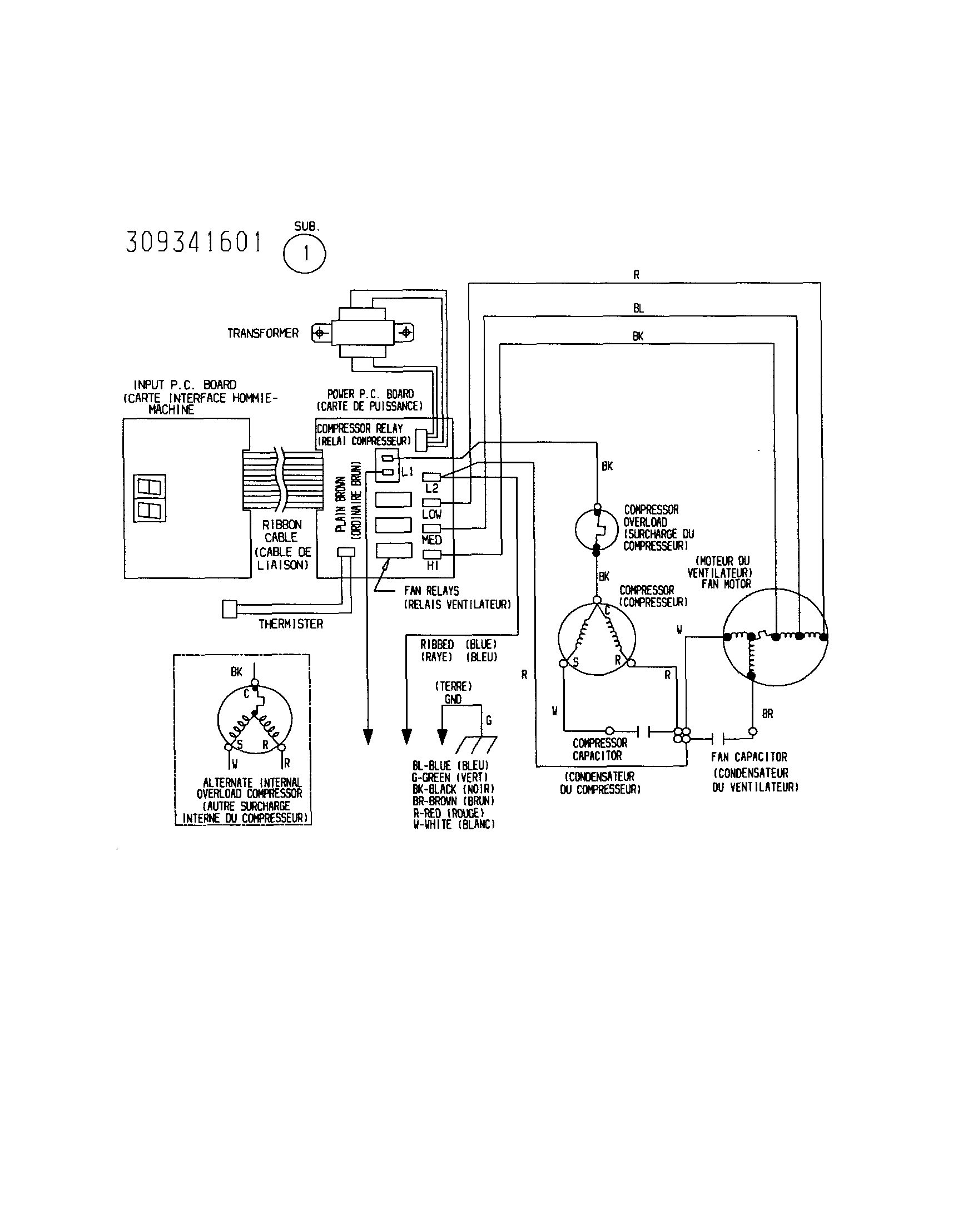 alternating rib relay wiring diagram