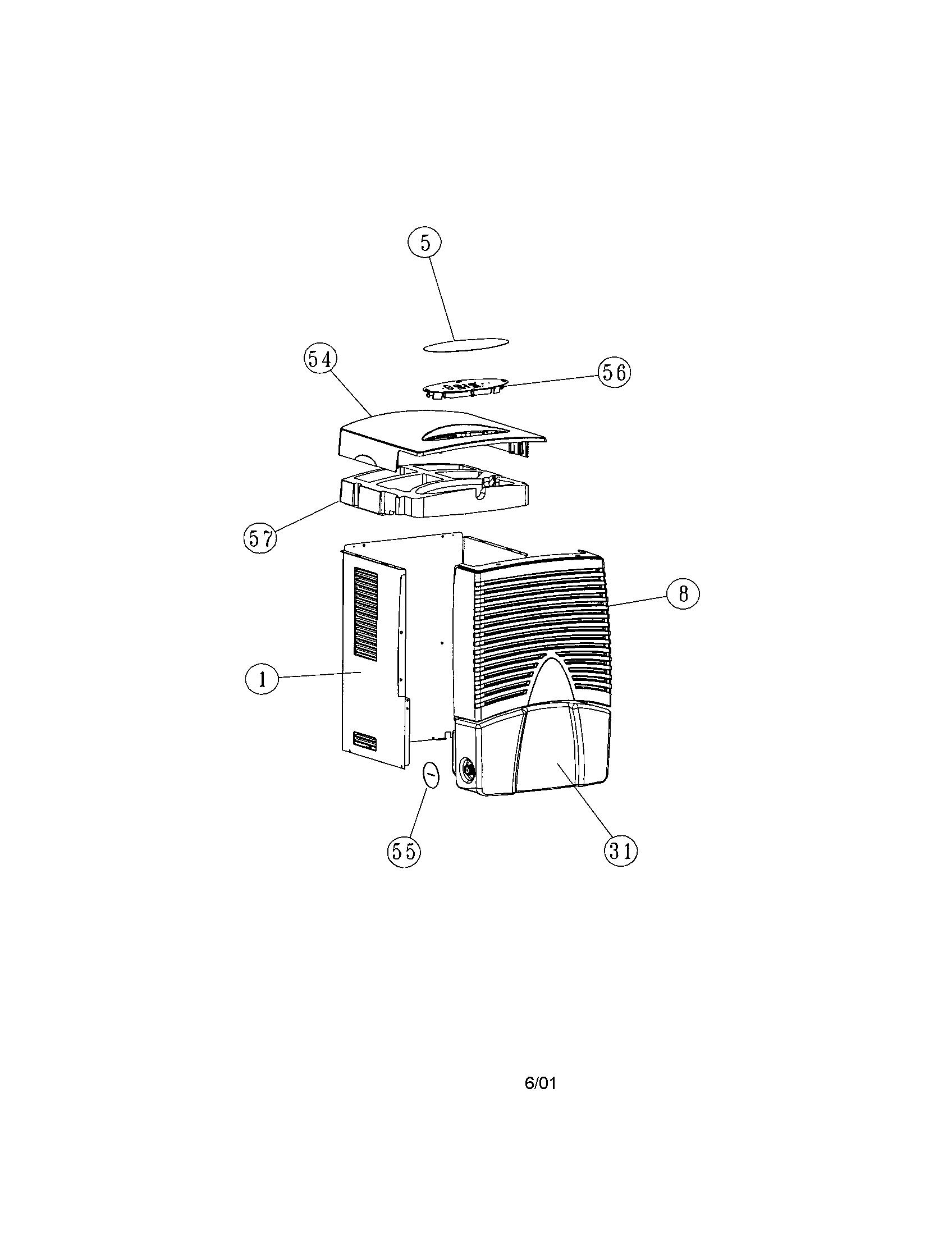 dehumidifier system diagram