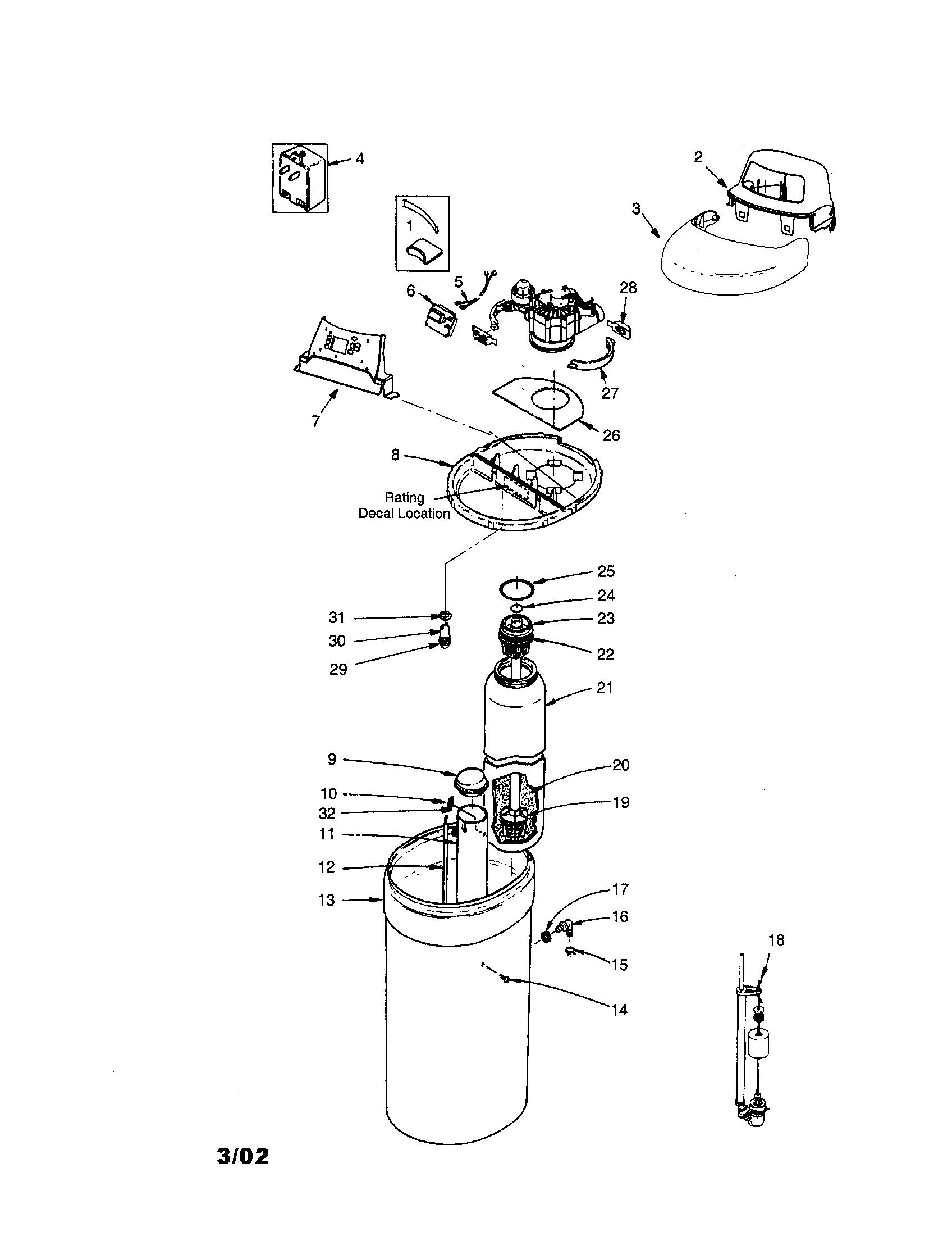 water meter diagram