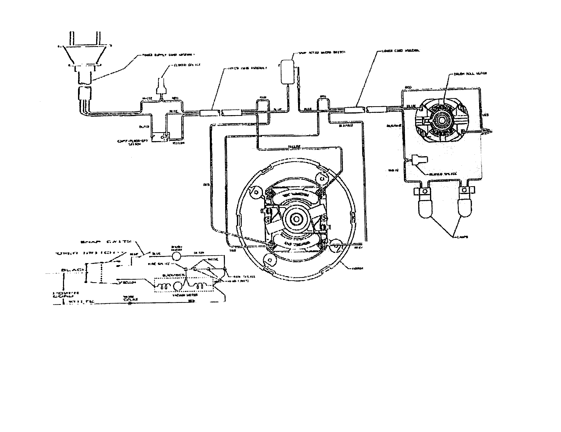 shop vac motor wiring diagram