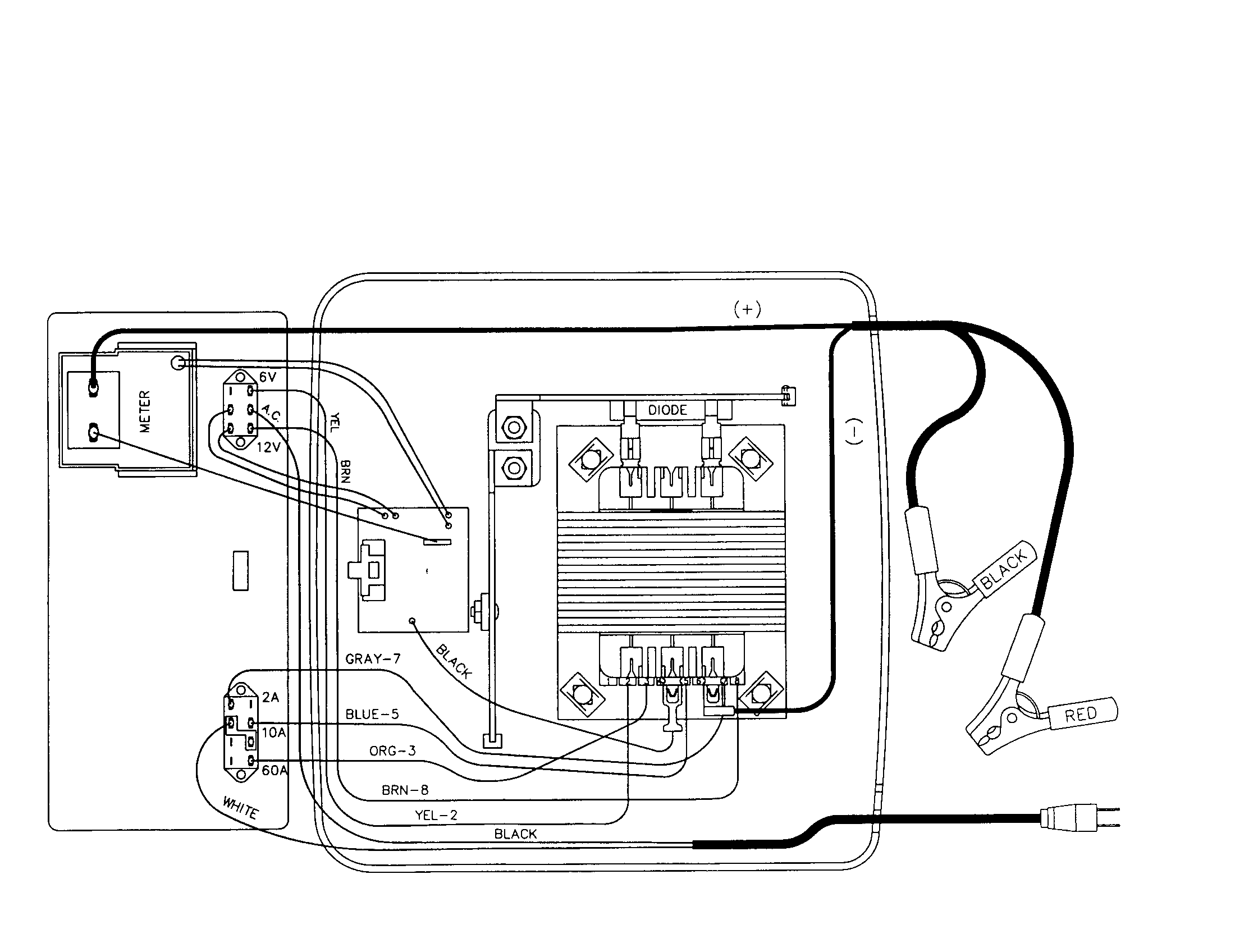 diagram in addition battery charger wiring diagram on wiring amp