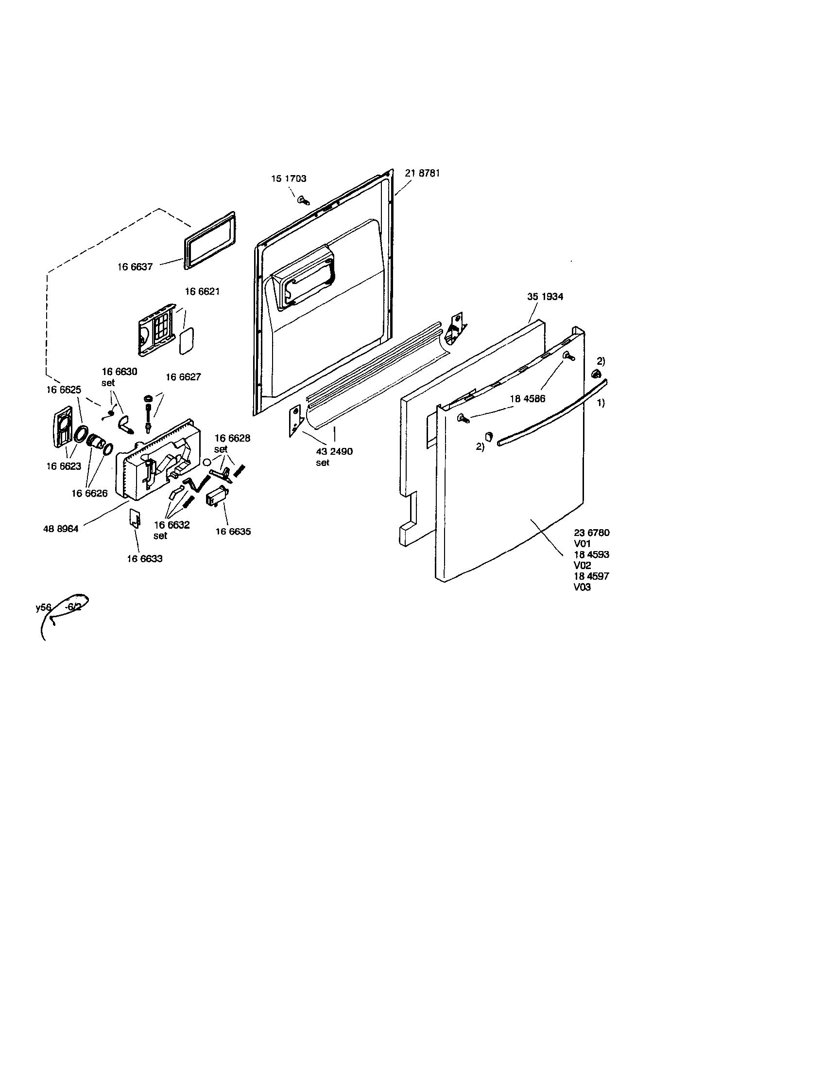 bosch dishwasher model shy56a06uc14 fd8301