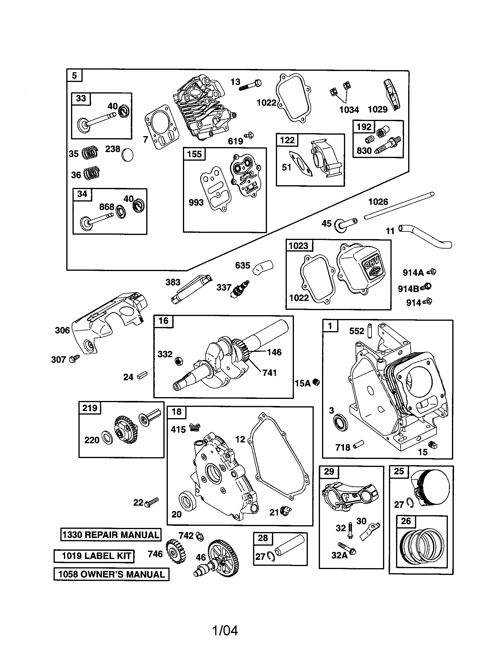 190cc engine diagram