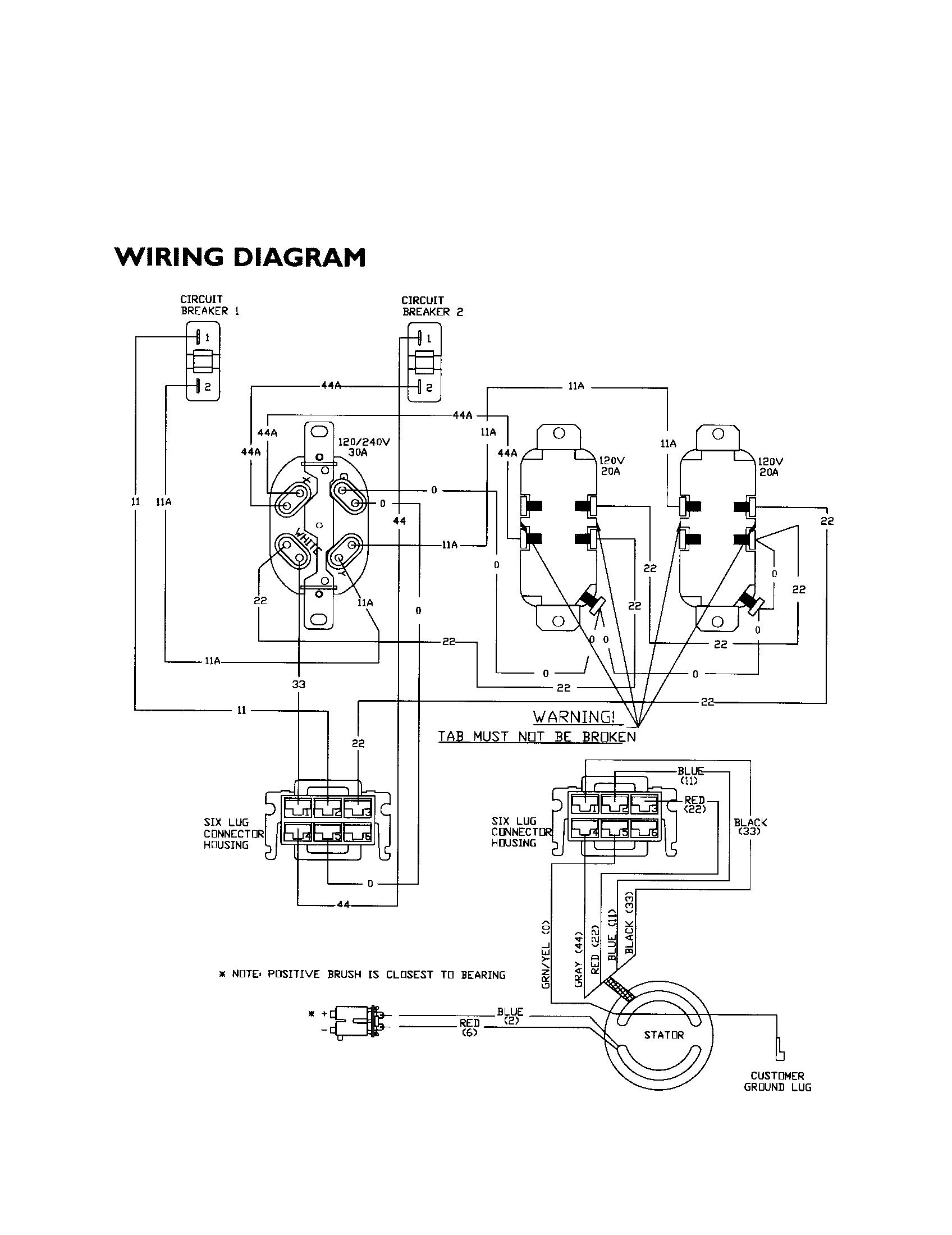 generac generator wiring diagrams