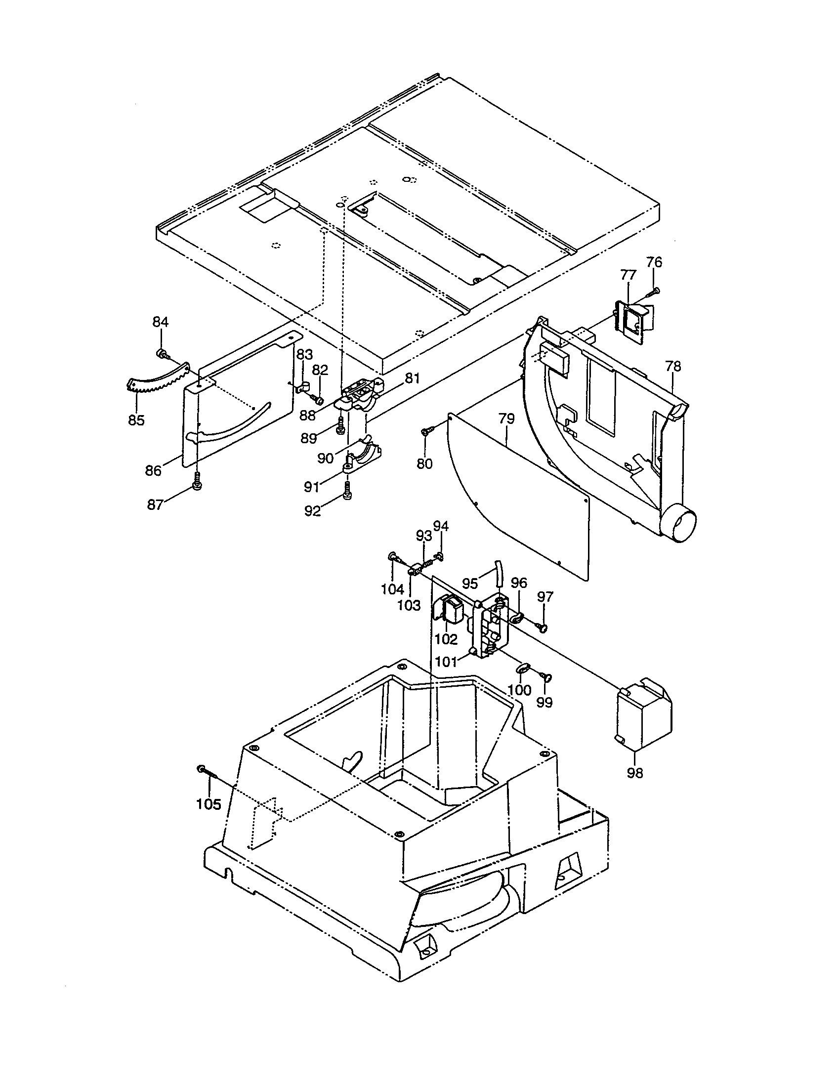 sears wiring diagrams table saws