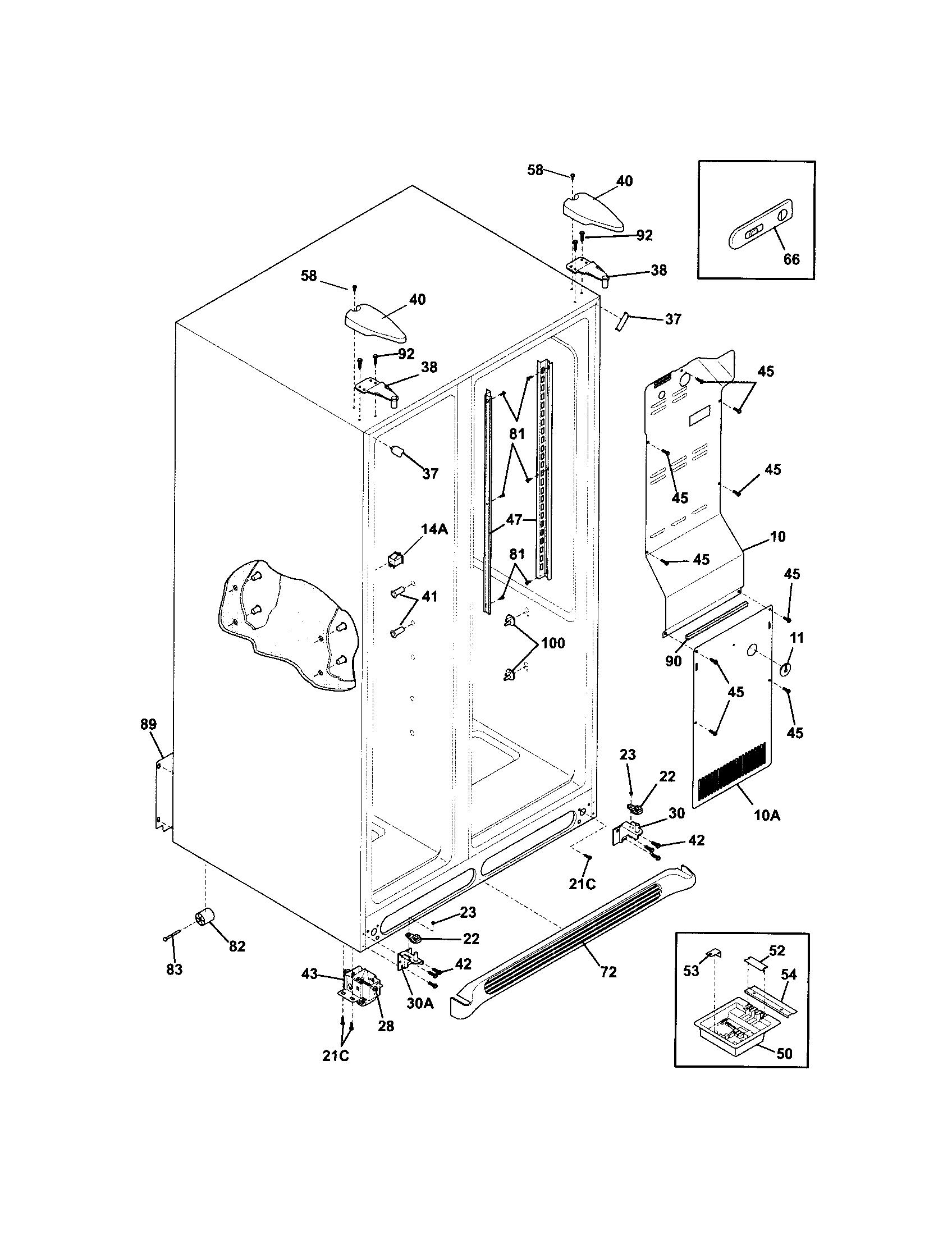 frigidaire compressor wiring diagram