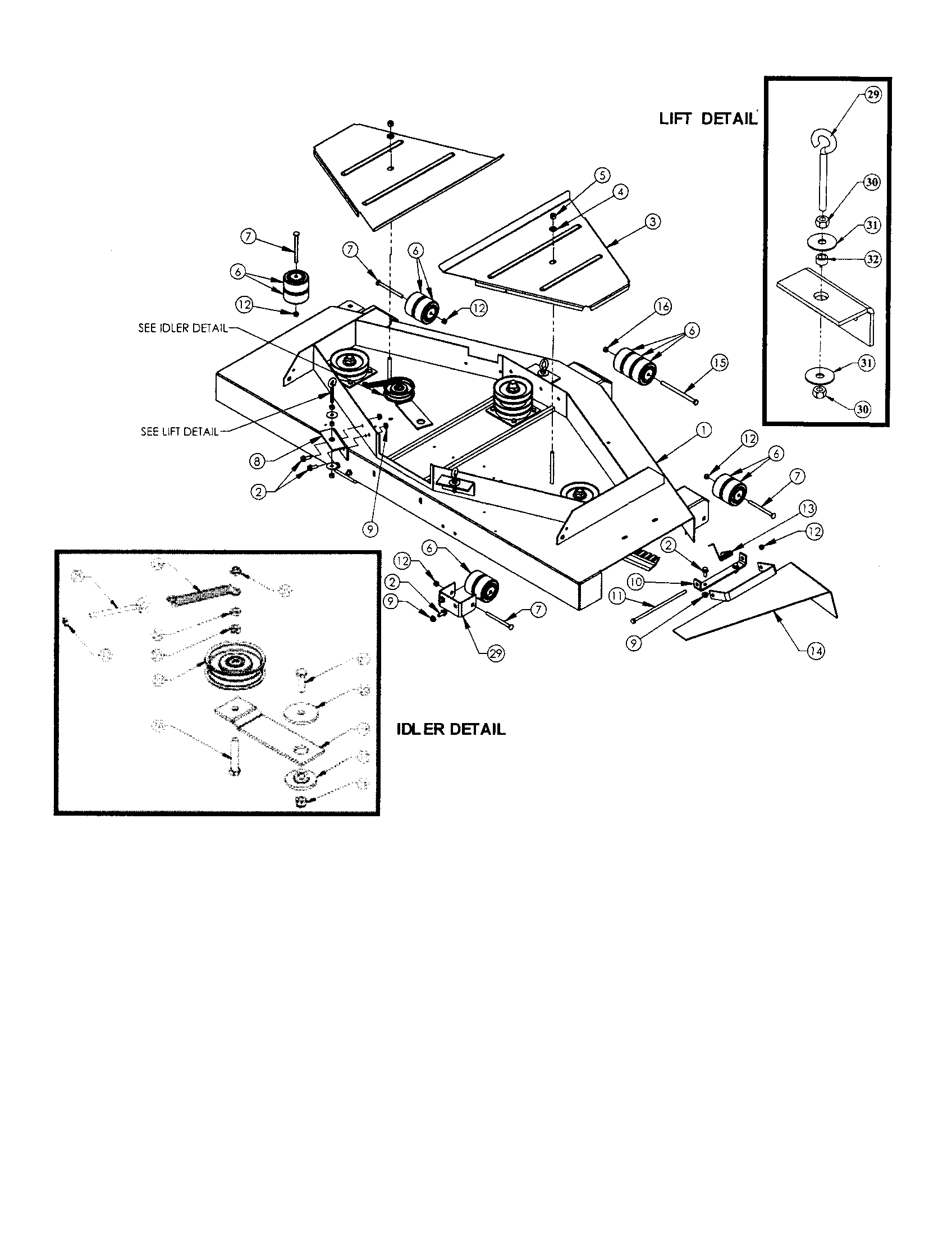 swisher pull behind mower wiring diagram